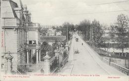 Charmes-sur-Moselle (Vosges) - Le Pont Et L'Avenue De La Gare - Carte Non Circulée - Charmes