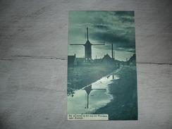 Origineel Knipsel ( 865 ) Uit Tijdschrift  :  Wevelghem  Wevelgem  Molen  Moulin  1935 - Vieux Papiers