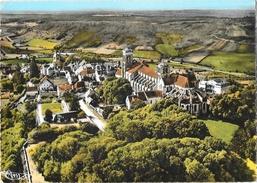 Vézelay (Yonne) - La Basilique Et Le Bourg, Vue Aérienne - Edition Combier, Carte CIM Colorisée - Vezelay