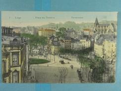 Liège Place Du Théâtre Panorama - Liege