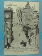Liège Montagne De Bueren Publicité : Café Du Panorama Joseph Riga - Liege