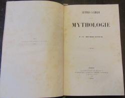 Livre Ancien - Charles-Albert Demoustier - Lettres à Emilie Sur La Mythologie - 1847 - 1801-1900