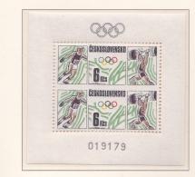 Ceskoslovensko 1988 Seoul Olympic Games - Souvenir Sheet MNH/**   (H35) - Summer 1988: Seoul