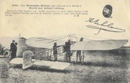 Le Monoplan Blériot (type Traversée De La Manche), Monté Par Alfred Leblanc (en Médaillon) - Edition J. Hauser - ....-1914: Précurseurs