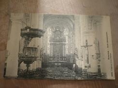 Broechem 1914 Kerk Binnenzicht Topkaart - Ranst