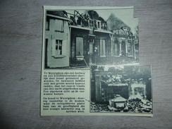 Origineel Knipsel ( 1118 ) Uit Tijdschrift  :  Wevelghem  Wevelgem  Brand  Incendie 1934 - Vieux Papiers