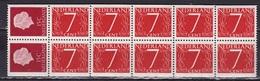 1964 2 X 15 + 10 X 7 Ct Inhoud Uit PB 1 Waarin NVPH C 9 Postfris - Carnets Et Roulettes