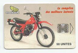 Madagascar Malagasy  Madagaskar TC Publicité Réf Catalogue P10  Moto HONDA - Madagascar