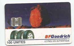 Madagascar Malagasy  Madagaskar TC Publicité Réf Catalogue P21 Rare 4000 Ex.  PNEU GOODRICH - Madagascar
