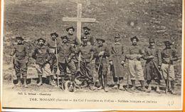 Au Col Frontiere De Fréjus - Modane