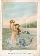 Calendrier Semestriel Janvier à Juin 1883. Ambre Parfum Des Ondes ( ATTENTION IL MANQUE LE DEUXIEME SEMESTRE ) - Calendars