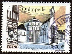 Oblitération Cachet à Date Sur Timbre De France N° 5071 - Quimperlé (Finistère) - Frankreich