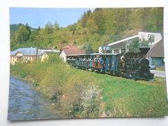 D156258 Train Railway Rail - Slovakia  -Ciernohornskej Lesnej Zeleznici  - Cierny Balog -Engine - Trenes