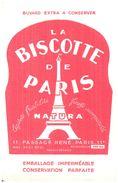 Biscottes La Biscotte De Paris Natura  (Format  20 X 13) - Zwieback