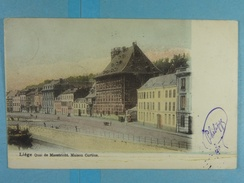 Liège Quai De Maestricht Maison Curtius - Liege
