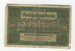 9/02/1920  F  3 - [ 3] 1918-1933 : Repubblica  Di Weimar