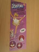 BARBIE BALLERINE  Pour  Collectionneurs ... PUBLICITE MATTEL Page De Revue Des Années 70 - Barbie