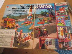LE MONDE MERVEILLEUX DE BARBIE  Pour  Collectionneurs ... PUBLICITE MATTEL Page De Revue Des Années 70 - Barbie