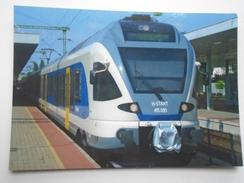 D156265 Train Railway Rail - Stadler FLIRT - Hungarian Railways -MÁV- Budapest Kelenföld Station - Treni