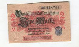 2 MARK 12/08/1914  F 3 - [ 2] 1871-1918 : Impero Tedesco
