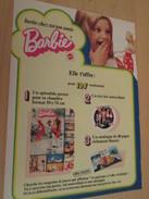 INVITE CHEZ TOI TON AMIE BARBIE  Pour  Collectionneurs ... PUBLICITE MATTEL Page De Revue Des Années 70 - Barbie