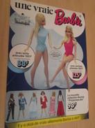UNE VRAIE BARBIE  Pour  Collectionneurs ... PUBLICITE MATTEL Page De Revue Des Années 70 - Barbie