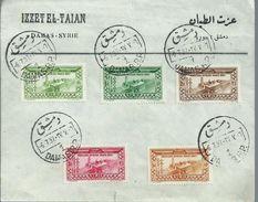 Syrië Old Letter 1937,Izzet El Taian,Damas - Syrië