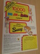 TOMBOLA BIG JIM Et BARBIE  Pour  Collectionneurs ... PUBLICITE MATTEL Page De Revue Des Années 70 - Barbie