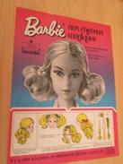 BARBIE AUX CHEVEUX MAGIQUES  Pour  Collectionneurs ... PUBLICITE MATTEL Page De Revue Des Années 70 - Barbie