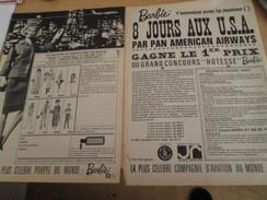 BARBIE HOTESSE DE L'AIR Comme Jean-Phi Jansen  Pour  Collectionneurs ... PUBLICITE MATTEL Page De Revue Des Années 60 - Barbie