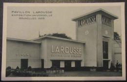 Exposition Universelle Bruxelles 1935 - Pavillon Larousse - Non-circulée - Expositions