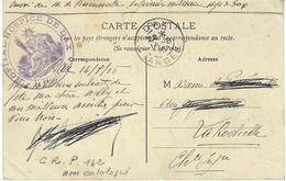 """1916- C P A En F M """" HOPITAL -HOSPICE DE DAX ( Landes ) """" - Guerra Del 1914-18"""
