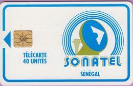 Télécarte Sénégal °° Sonatel 40 Unités - Gem - Verso Sans Numéro. - Senegal