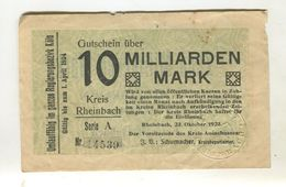 10 MO MARK 23/08/1923 F 3 - [ 3] 1918-1933 : Weimar Republic