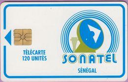 Télécarte Sénégal °° Sonatel 120 Unités - Gem - Verso Sans Numéro. - Sénégal