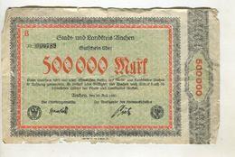 500000 MARK 20/06/1923 F 3 - [ 3] 1918-1933 : Weimar Republic