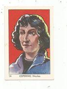 Chromo ,image , Chocolat COOP , N°14 ,les Bienfaiteurs De L'humanité , COPERNIC , Astronome - Chocolat