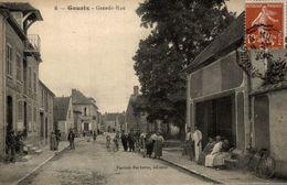 GOUAIX GRANDE RUE CPA ANIMEE - France
