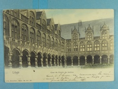 Liège Cour Du Palais De Justice - Liege