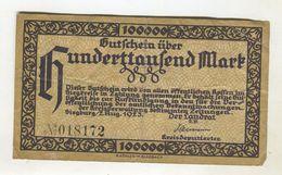 500000  MARK 2/08/1923 F 3 - 1918-1933: Weimarer Republik