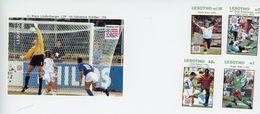 LESOTHO-1994-Coupe Du Monde De Foot-USA-Gardien De But-YT 1120/23+B113***MNH - World Cup