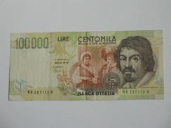 100000 - Centomila LIRE - ITALIE  - 1994 - Banca D'Italia **** EN ACHAT IMMEDIAT **** - [ 2] 1946-… : Républic