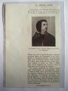 1912 -  Bande à Bonnot  - Assassinat Du Zouave JOUIN       - Coupure De Presse Originale (encart Photo) - Documents Historiques