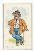 18581 - Villano Rifatto Le Paysan Parvenu  Circulée 1927 - Humour