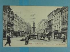 Liège Rue Vinave D'Ile La Fontaine De La Vierge, Par Delcour - Liege