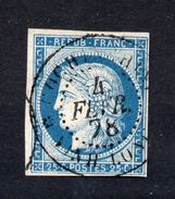 !!! PRIX FIXE : COLO GENERALES, N°23 OBLITERE VINH-LONG ( INDOCHINE ) 1878 - Ceres