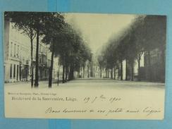 Liège Boulevard De La Sauvenière - Liege