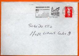 21 MARSANNAY LA COTE  SES VINS  1996 Lettre Entière N° GG 932 - Marcophilie (Lettres)