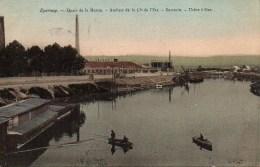 51 EPERNAY  Quais De La Marne  Ateliers De La Cie De L'Est - Sucrerie  - Usine à Gaz - Epernay