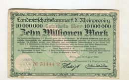 10MO MARK 20/08/1923 F+ 4 - [ 3] 1918-1933 : Weimar Republic